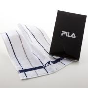 <フィラ>タオルハンカチ1P・ホワイト(FLA)